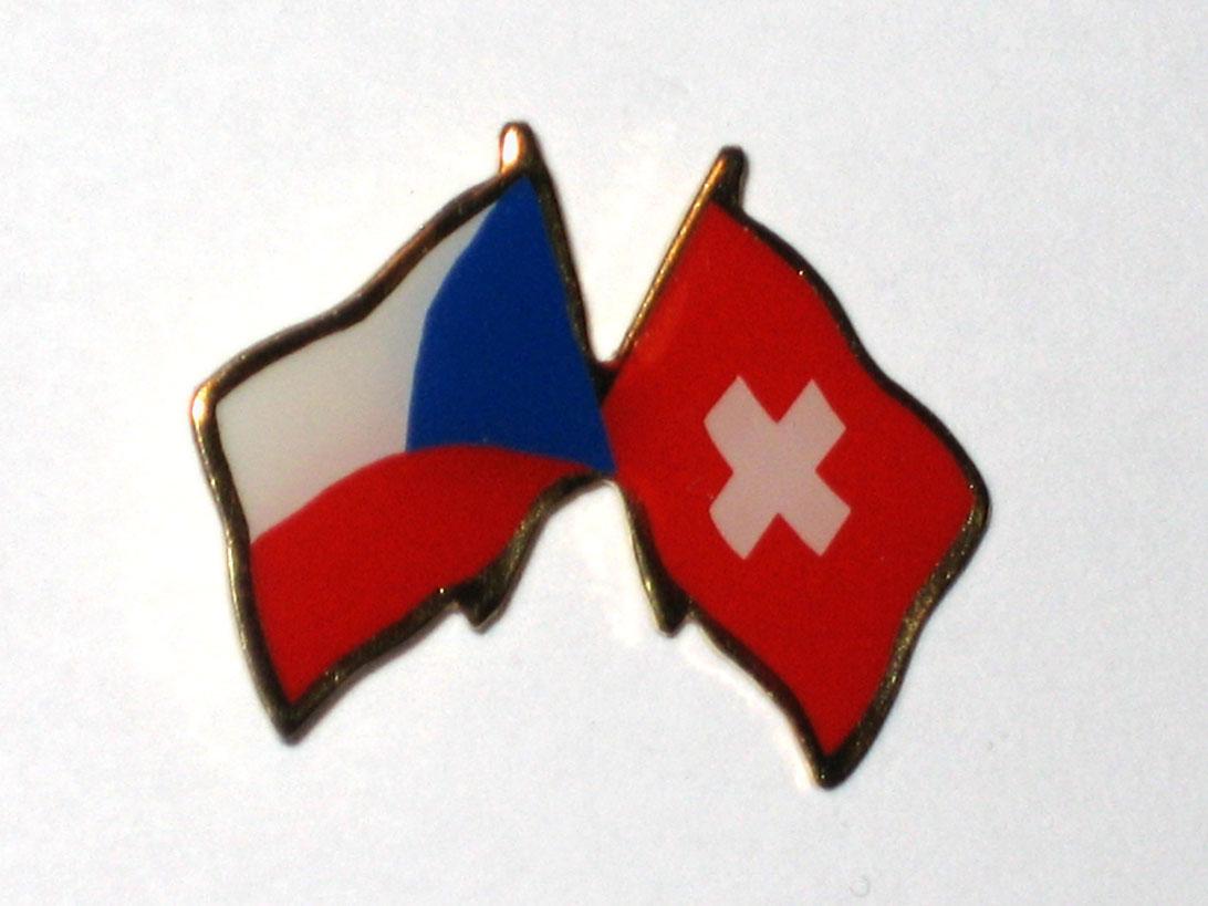 Odznak - česko-švýcarský