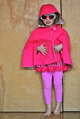 little pink riding hood with an attitude