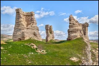 Ruinas Castillo de Palenzuela - Palencia