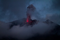 types of volcanic eruptions, cloud, volcano, darkness, volcanic landform,