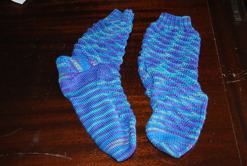 Handknit RPM socks by Irieknit in Lorna's Laces Shepherd Sock