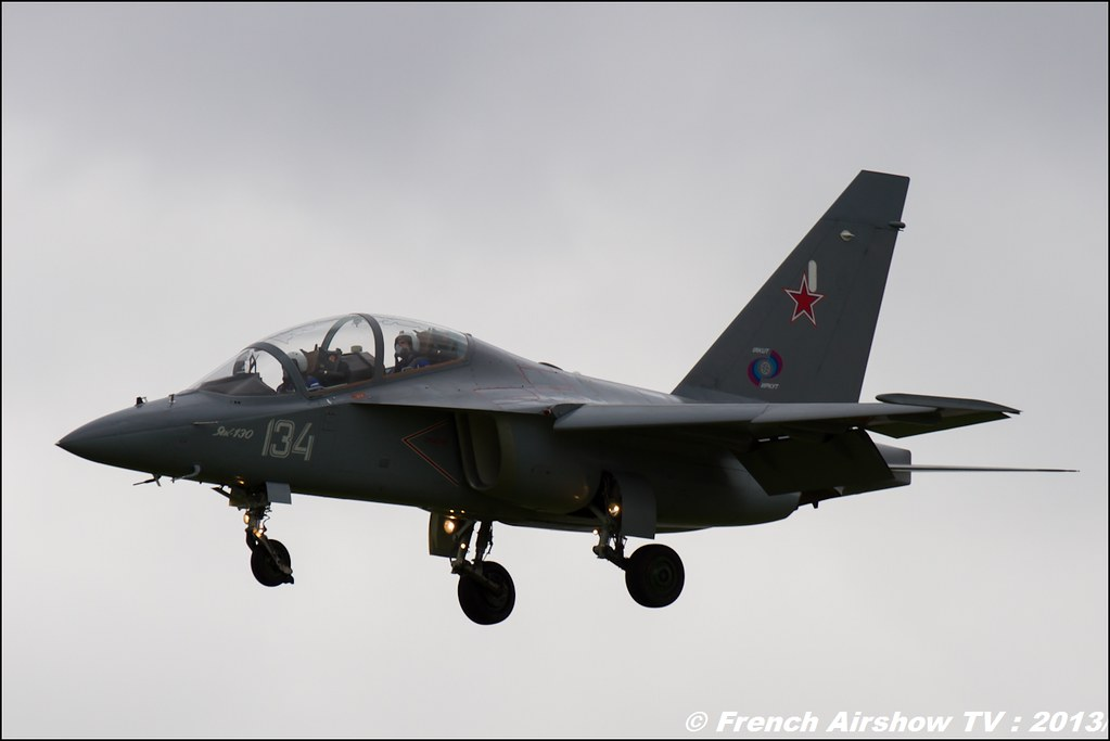 Yak-130,Salon du Bourget 2013,Paris Airshow 2013
