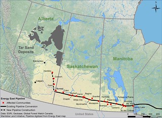 Map: Energy East West