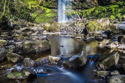 Henrhyd Waterfall, Brecon Beacons National Park, South Wales