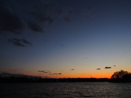 sunset ohio lake nikon vivid summit coventry portage p520