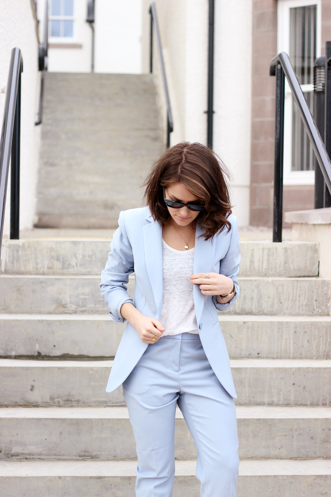 reiss powder blue suit 3