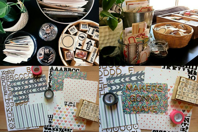 monthly recap: workspace wednesday | paper projects