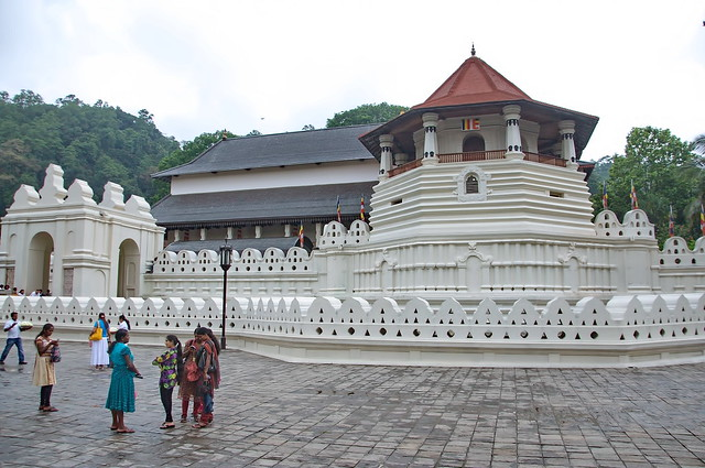 Temple of the Tooth Relic-Front View