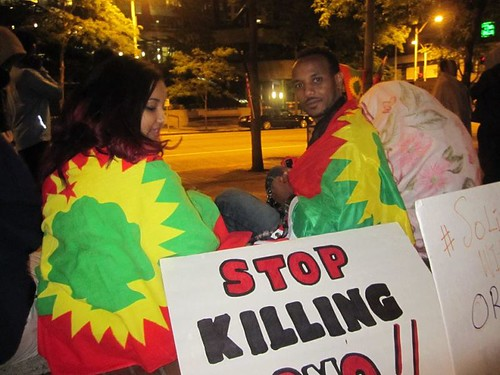 #OromoProtests Solidarity Hunger-Strike in Seattle