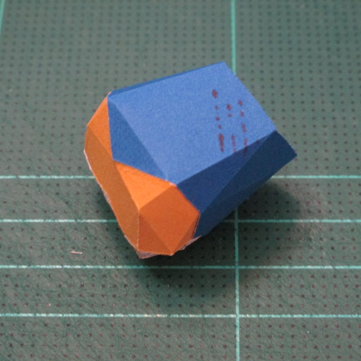 วิธีทำโมเดลกระดาษตุ้กตา คุกกี้รสราชินีสเก็ตลีลา จากเกมส์คุกกี้รัน (LINE Cookie Run Skating Queen Cookie Papercraft Model) 019