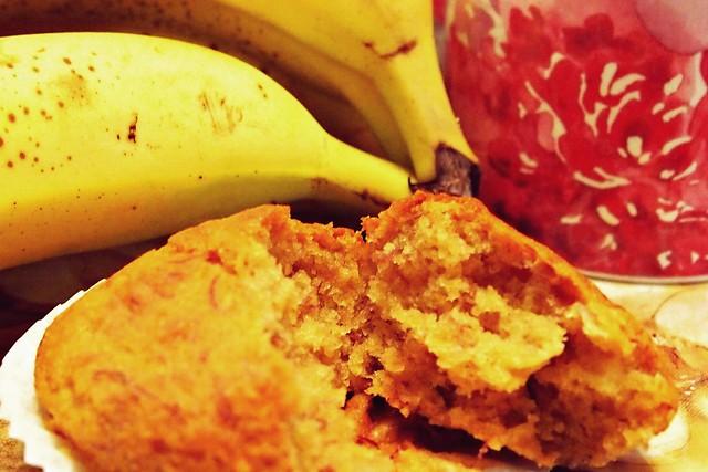 Banana, Maple, Walnut Muffins (Vegan & Gluten Free)