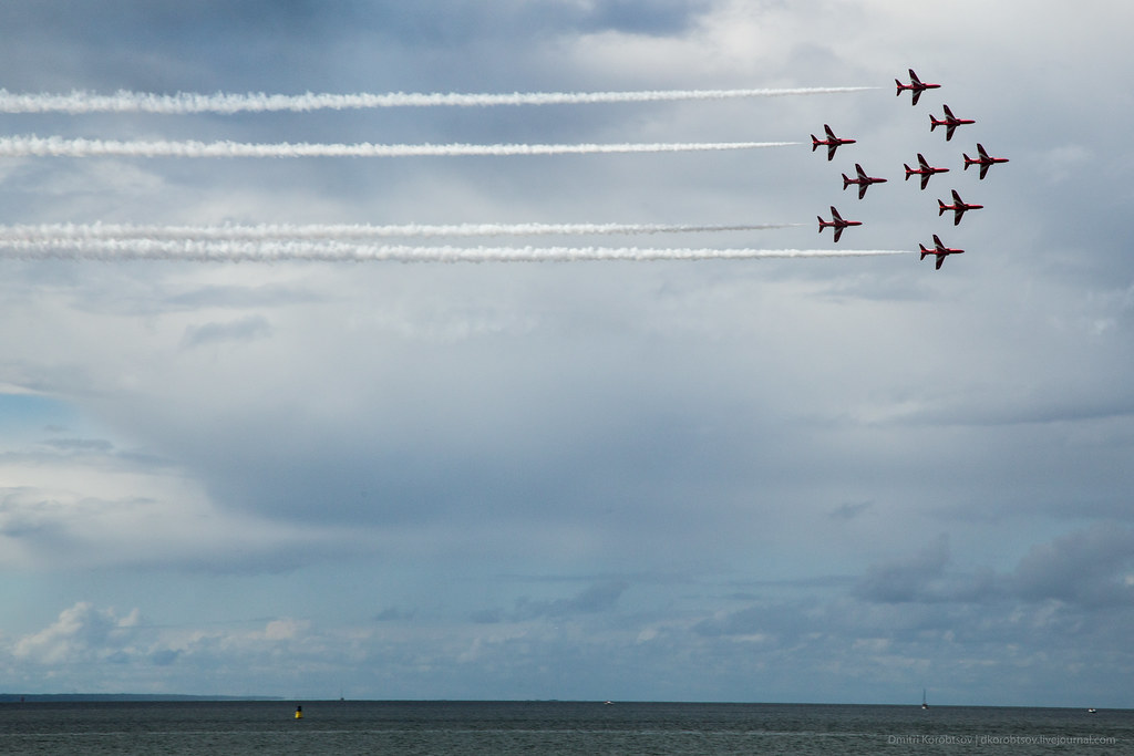RAF Red Arrows Airshow