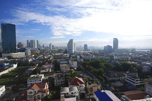 Wide View of Bangkok