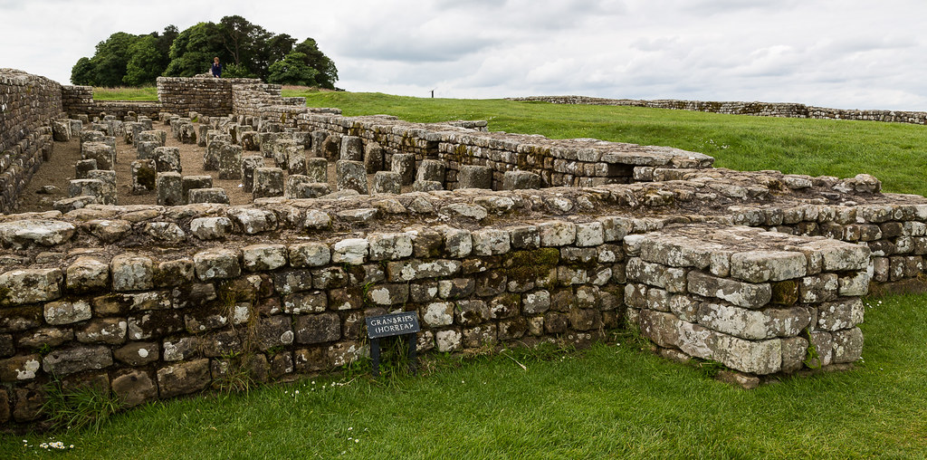 Hadrian's Wall walk, Housesteads Roman Fort