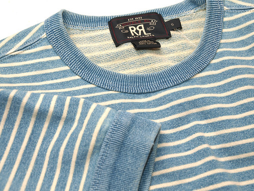 RRL / Ribbed-Cuff T-Shirt