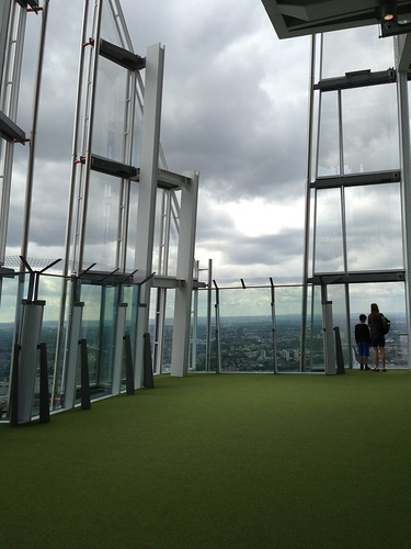 The View from The Shard, London. Londres