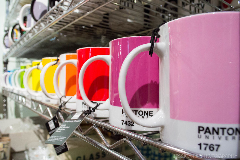 Pantone Rainbow Color Mugs