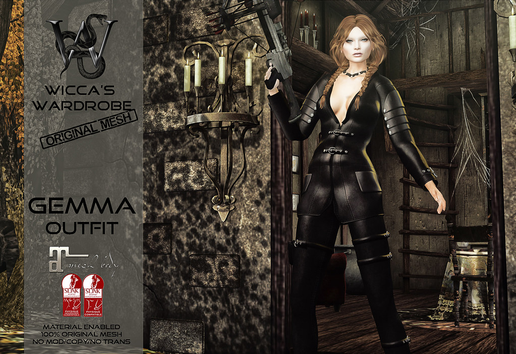 Wicca's Wardrobe - Gemma @ Enchantment November 2016 - SecondLifeHub.com