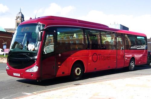 FJ10 OXP TM Travel No. 74 Scania / Irizar i4 on 'Dennis Basford's railsroadsrunways.blogspot.co.uk