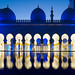 Abu Dhabi Blue Hour - Grand Mosque (2) by Karsten Gieselmann