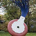 """Typewriter Eraser, Scale X"" at the National Gallery of Art Sculpture Garden"