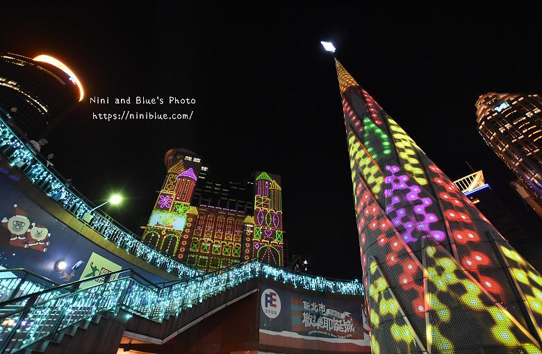 2016新北市耶誕城板橋車站景點41