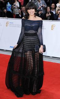 Daisy Lowe Sheer Dress Celebrity Style Women's Fashion
