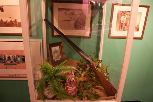 Ty Cobb's shotgun - Ty Cobb Museum
