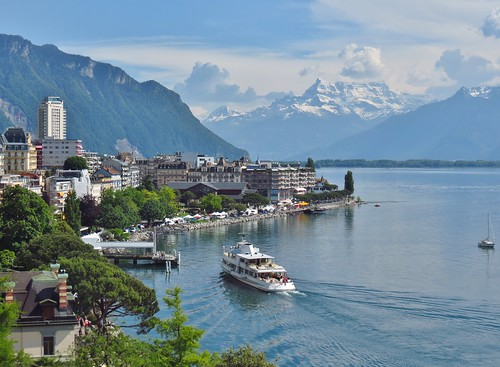 "Montreux from the book ""A Farewell to Arms"" by Ernest Hemingway"