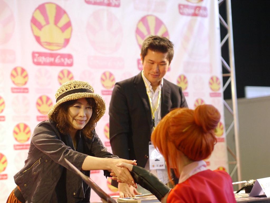 related image - Junko Takeuchi - Japan Expo 2013 - P1660342