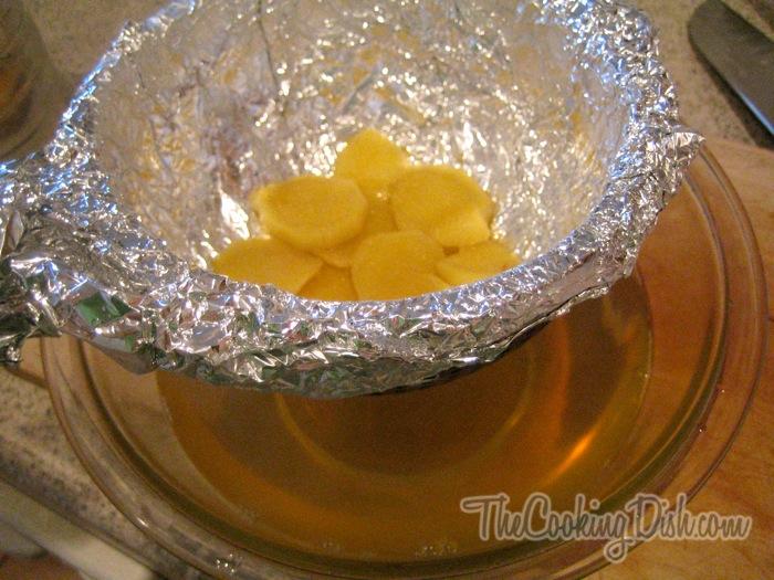 how to make ginger tea for sore throat