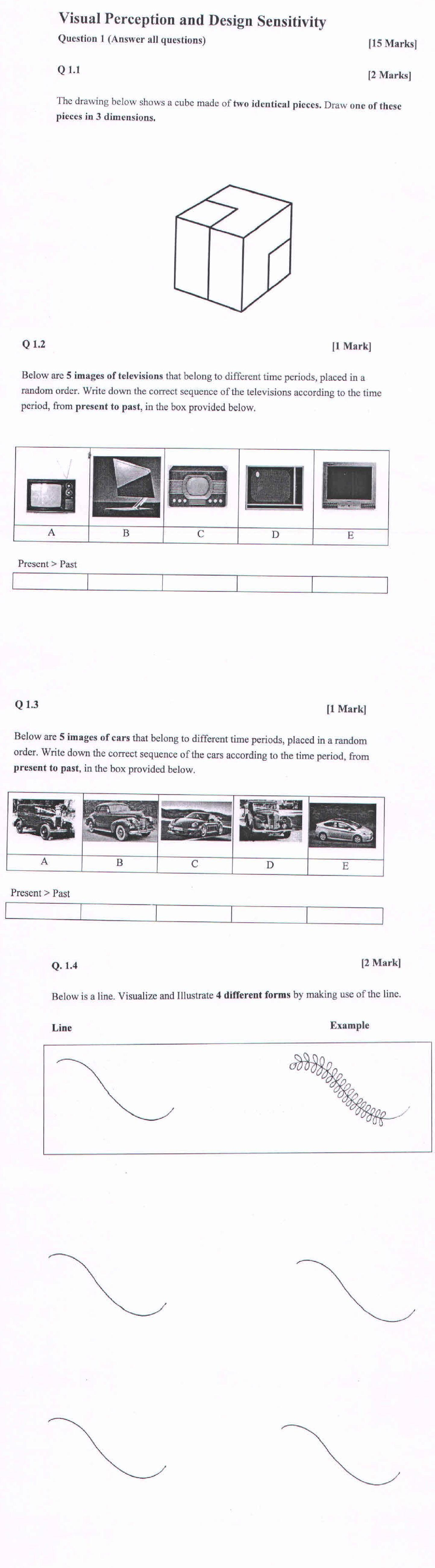 CEED 2011 Question Paper