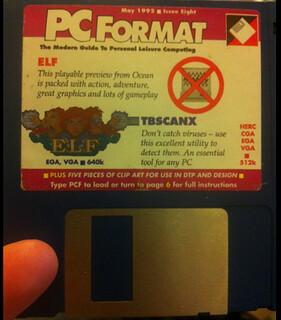 """PC Format 3.5"""" Floppy"""