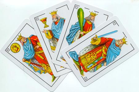 Cuatro Reyes Baraja Española