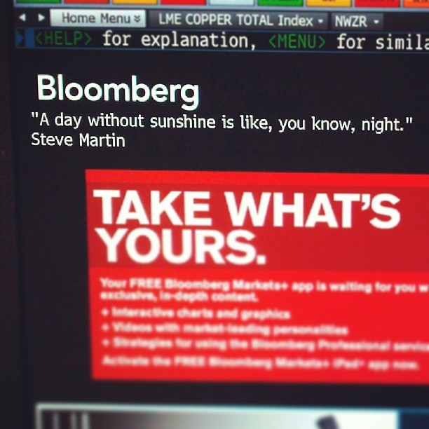 Today's Bloomberg: Steve Martin