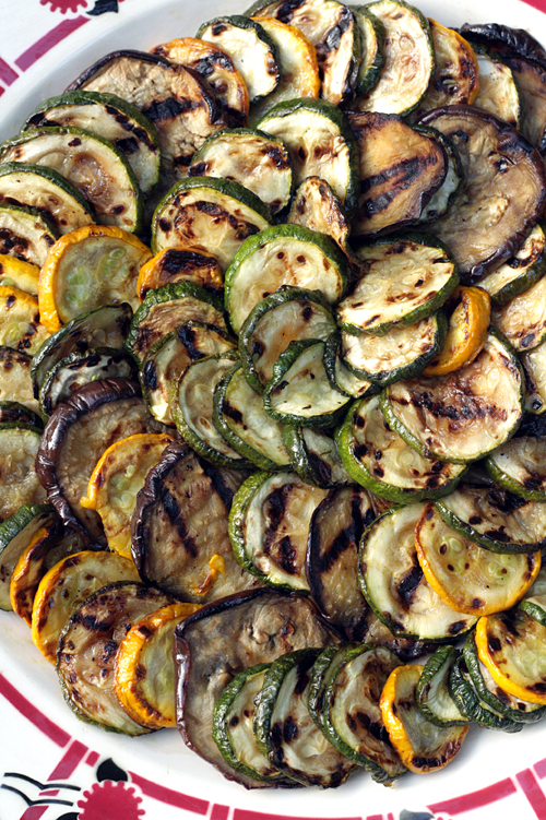 grilled vegetables vinaigrette