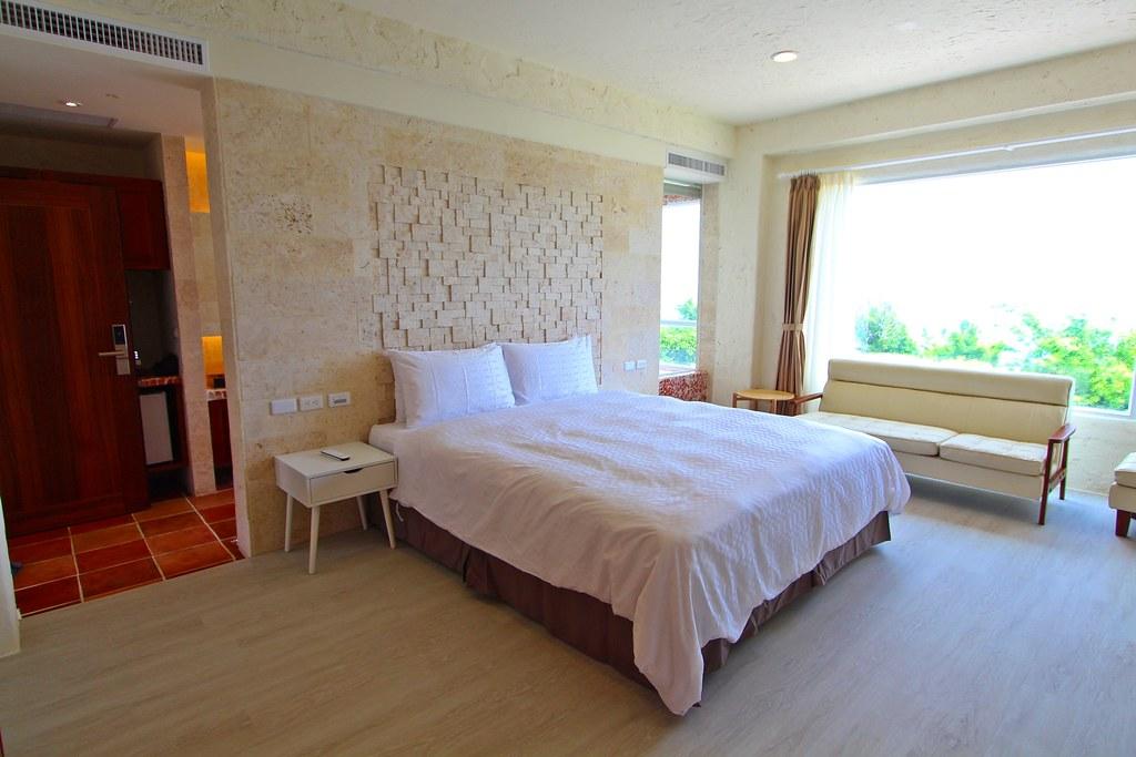 二樓浪漫海景雙人房臥房IMG_1069