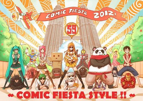 Comic Fiesta Mirai Fanart
