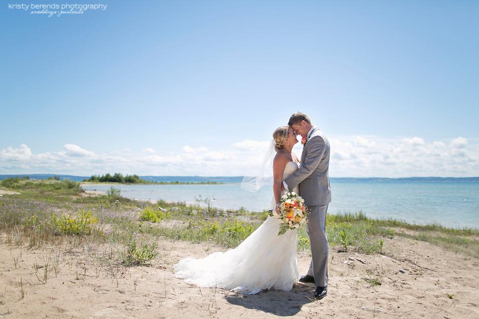 Little Traverse Bay Wedding