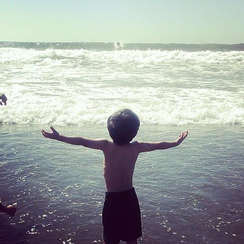 SF summer finally here. #oceanbeach #gottalovesf