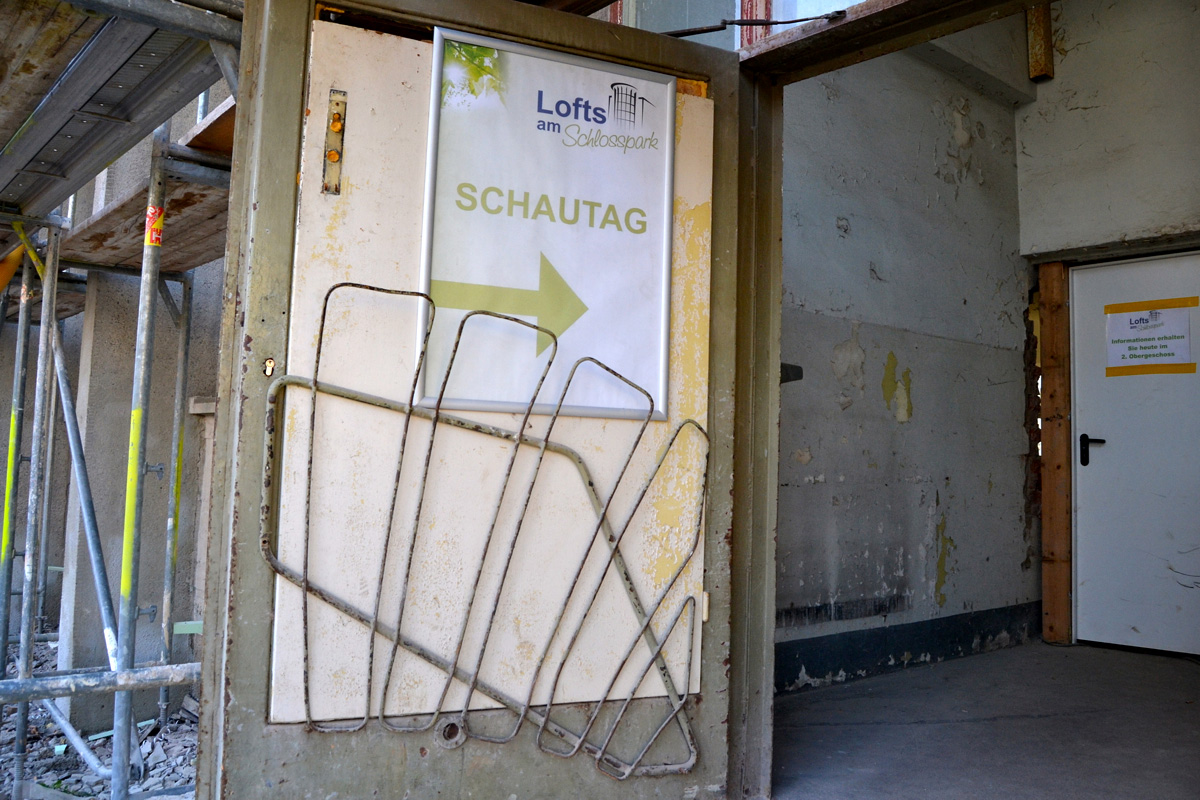 Baustelle (Lofts am Schlosspark)