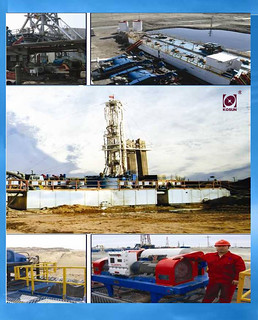 KOSUN solids control system Project - kosun workers at drilling field