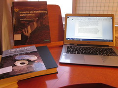 Stationery and research and reading