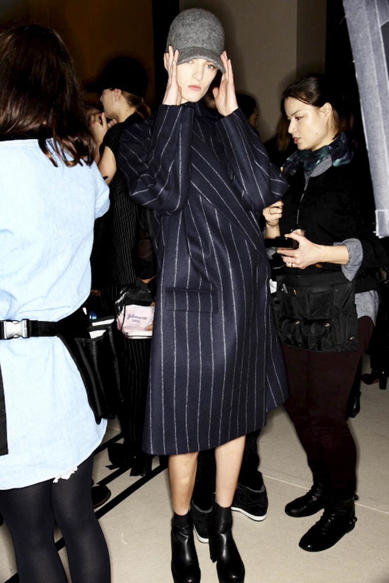 stella mccartney aw13 pinstripe coat