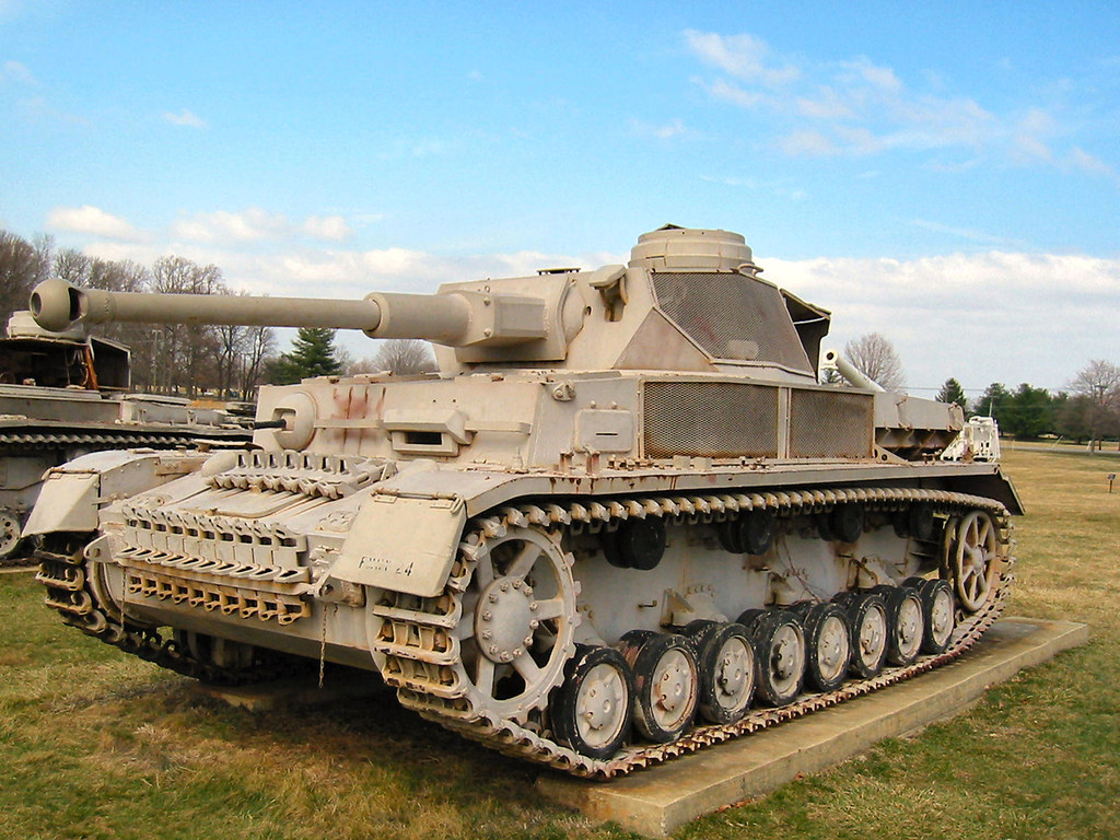 panzer iv walkaround photographies