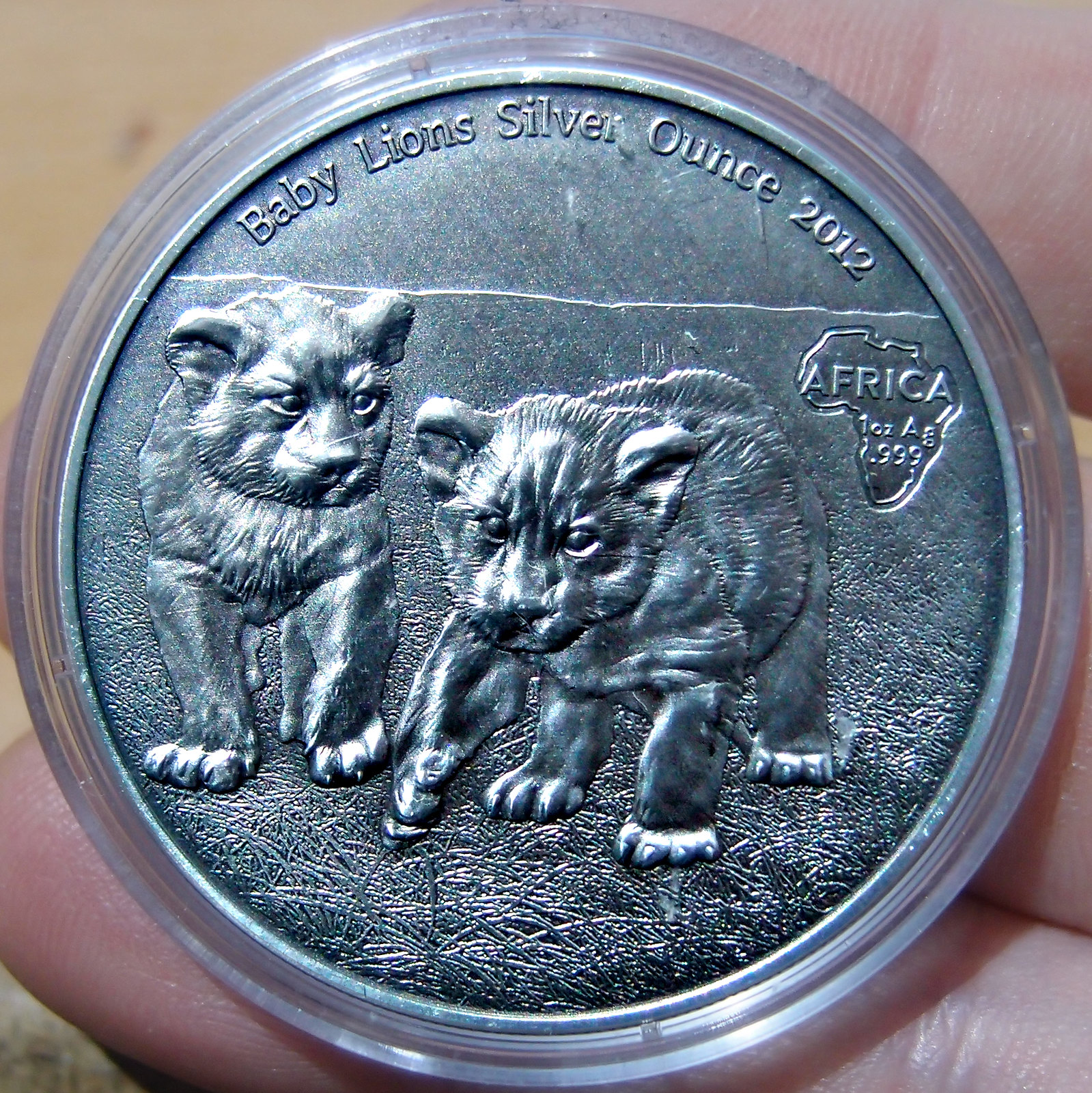 African Silver Ounce Serie  10025286185_8ee6ade8ff_h