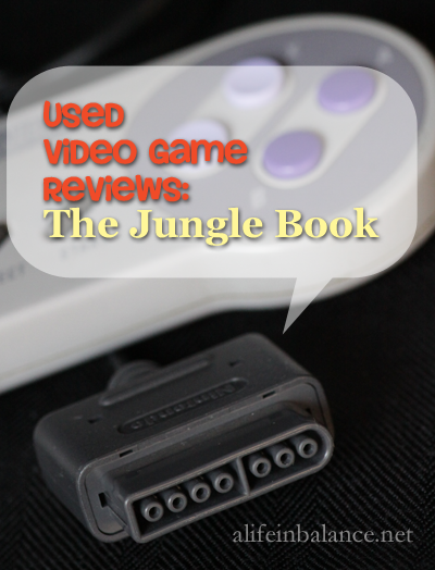 Used Video Game Reviews: Disney's The Jungle Book