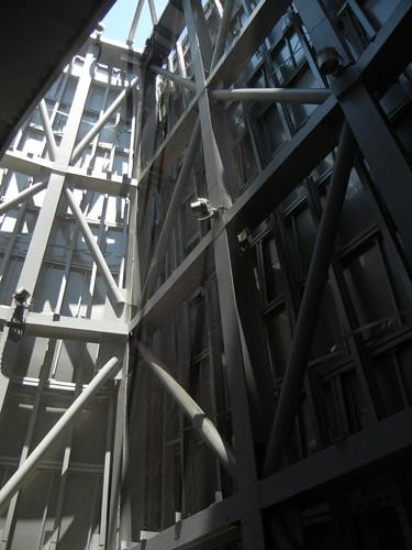 DSCN8567 _ Structure Detail, Walt Disney Concert Hall, Los Angeles, July 2013