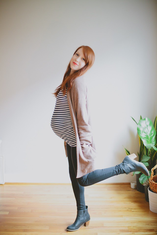 Favorite fall maternity outfit