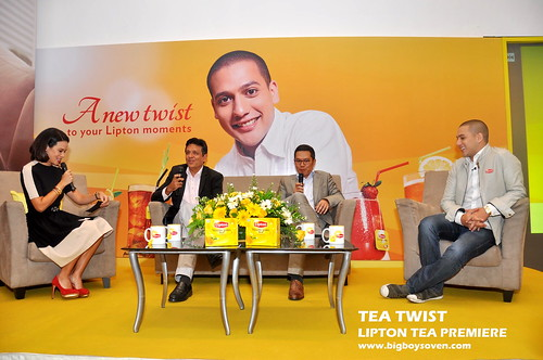 TEA TWIST Lipton Tea Premiere 5